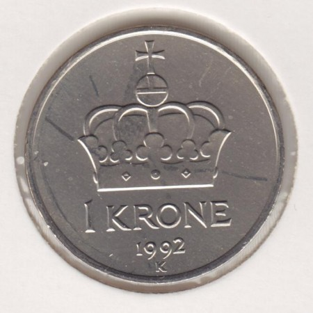 1 kr 1992 - 1996