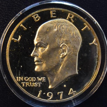 1 dollar Eisenhower