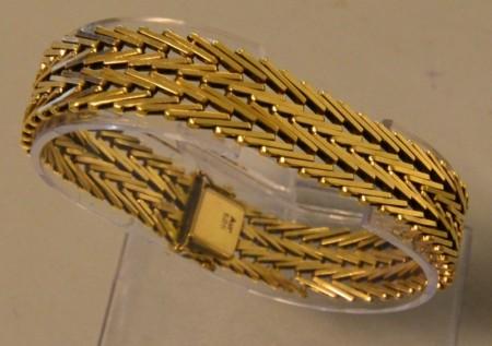 Armbånd/armringer i gull