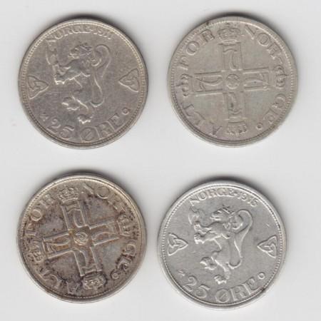 Haakon VII sølvmynter
