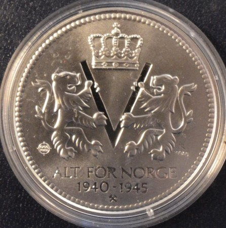 Alt for Norge 1940 - 1945 i sølv
