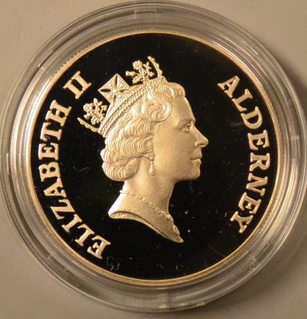 Alderney: Two Pounds 1995