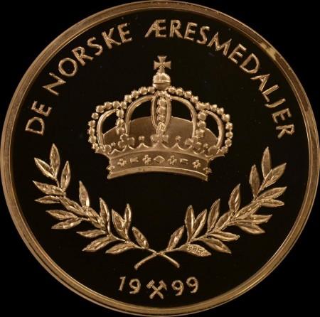 De norske æresmedaljer