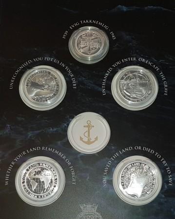 Krigsseiler medaljer i sølv