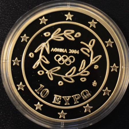 Athen OL 2004 sølvmynter