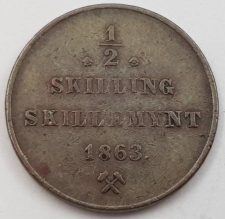 1/2 skillinger