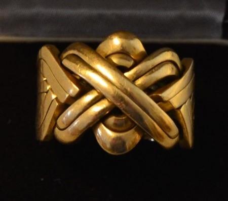 Ringer i gull