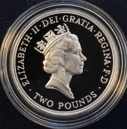UK: Two pounds 1995 FN