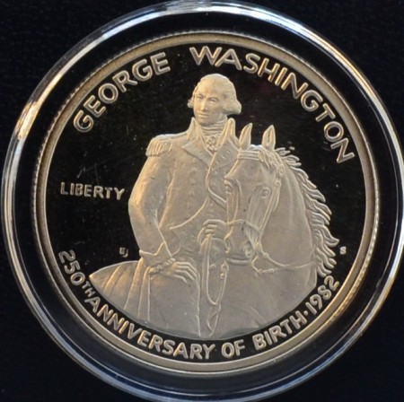 1982: Georg Washington 250 år (proof)