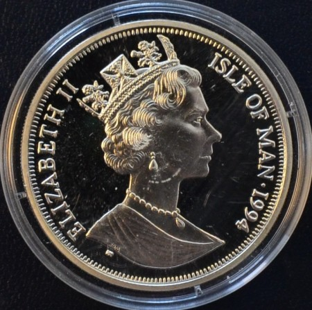 Isle of Man: 1 crown 1994 (D-Dagen)