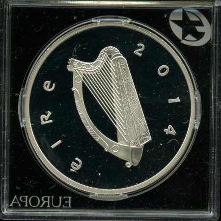 Europas sølvmynter 2014