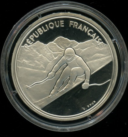 100 francs 1989 - Alpin